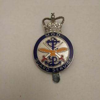 MOD Guard Service Metal Badge