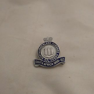 Northumberland Hussars Association South Africa 1900-02 pin badge