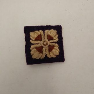 Officer Cloth Rank insignia pip