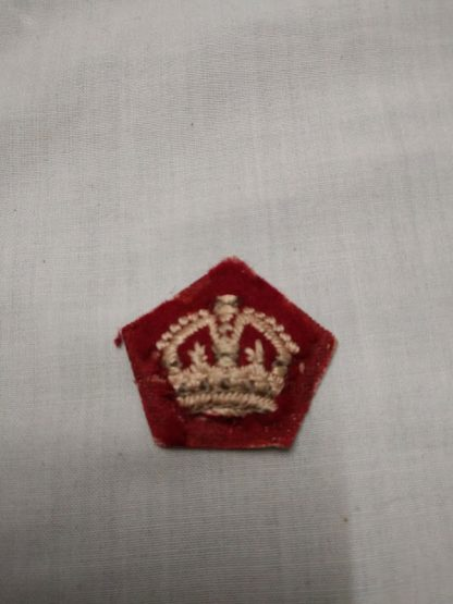 Officer rank Crown
