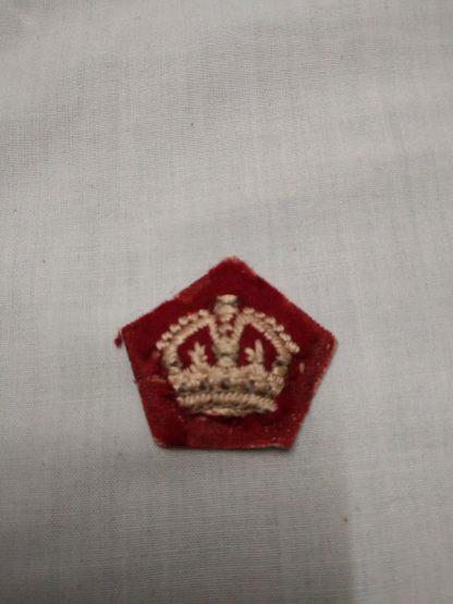 Officer rank Crown