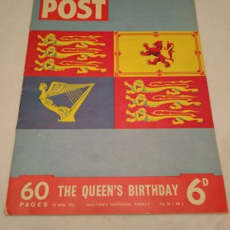 Picture Post 19 April 1952 Queen's Birthday Commemorative issue