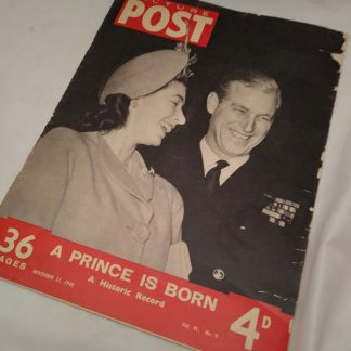 Picture Post 27 november 1948 commemorative issue A Prince is Born