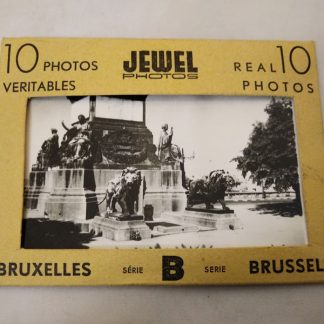 Pre WW2 photographs of Belgium (series 2) yellow pack