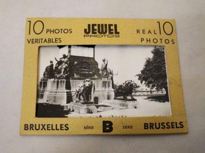 Pre WW2 photographs of Belgium (series 2) yellow pack