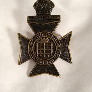 Queens 16th Westminster Regiment cap badge