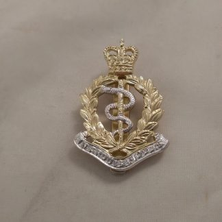 R.A.M.C. Cap Badge