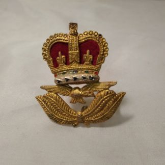 RAF Warrant Officer Cap Badge