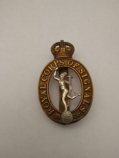 Royal Corps of Signals Cap Badge