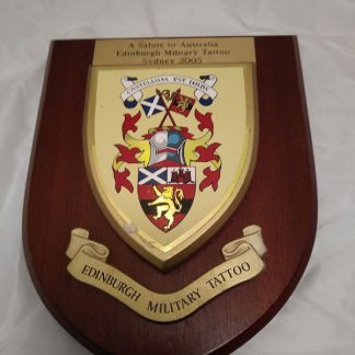 Royal Edinburgh Military Tattoo 2005 Wall Mess Plaque