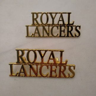 Royal Lancers Shoulder Titles
