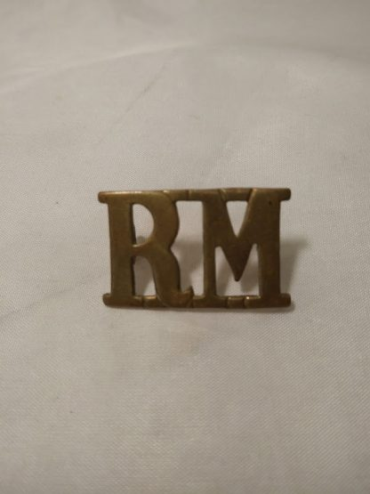 Royal Marine shoulder title