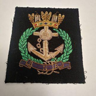Royal Naval Association regimental patch badge