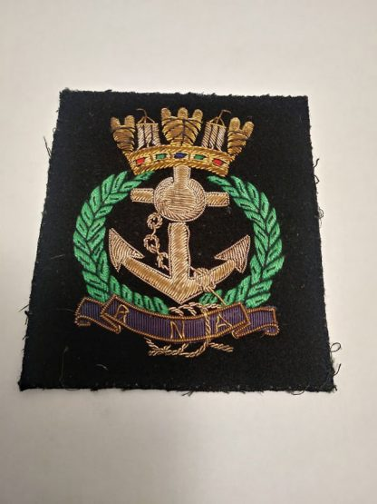 Royal Naval Association regimental patch badge