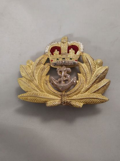 Royal Navy Officer Cap Badge