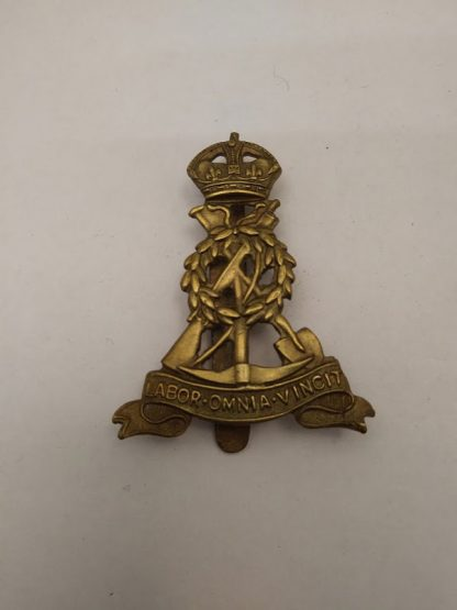 Royal Pioneer Corps Cap Badge