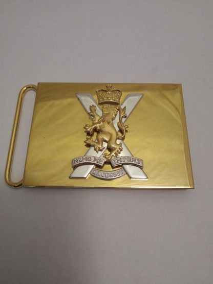 Royal Regiment of Scotland Belt Buckle
