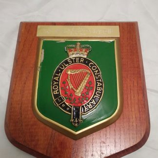Royal Ulster Constabulary Wall Mess Plaque