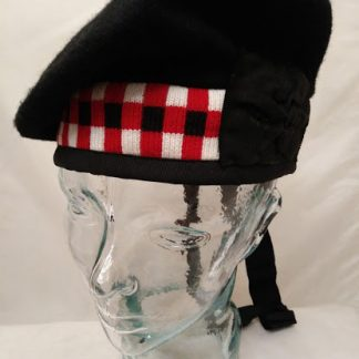Scottish Diced Balmoral hat bonnet