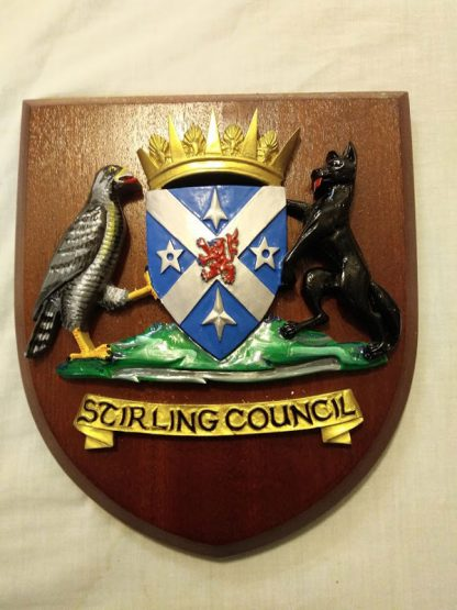 Stirling Council Wall Plaque