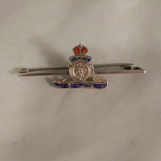 WW2 Royal Artillery Sweetheart Brooch