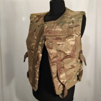 British Army Body Armour Plates and cover MTP camo