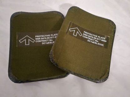 British Army body armour Woodland camo flak vets plates