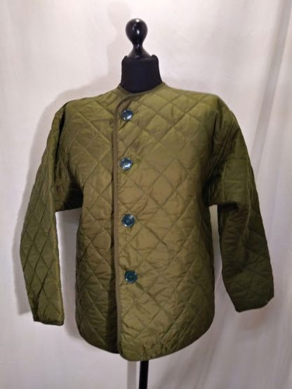 Extreme cold weather jacket liner, padded quilted