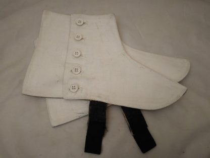 Genuine military issue 5 button spats