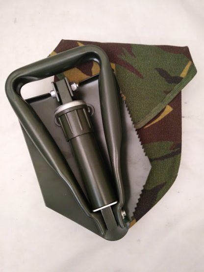 Tri Fold Spade and cover