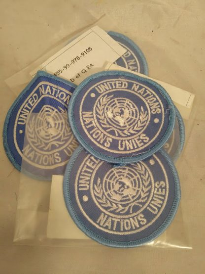 United Nations patch badge