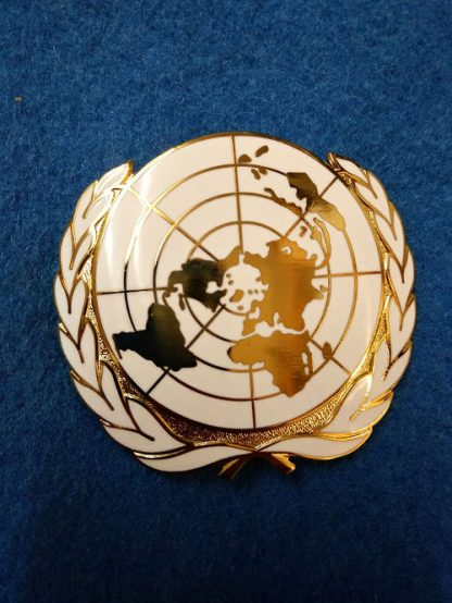United Nations Enamel Beret Badge. NEW