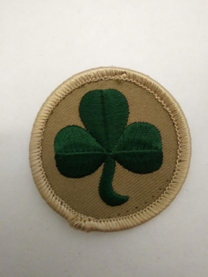 38 Irish Brigade Shamrock on Sand disc Forearm Patch