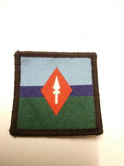 7th Signal Regt Spear Diamond patch badge