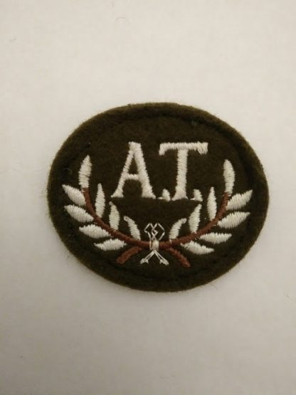 Anti Tank Gunner Patch Badge