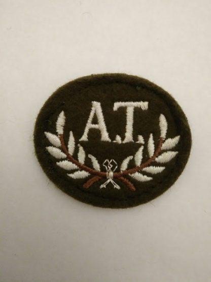 Anti Tank Gunner Patch Badge