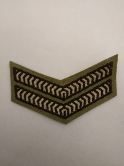 Australian Corporal cloth rank patch