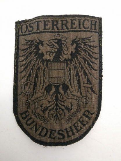 Austrian Osterreich Bundesheer Patch Badge