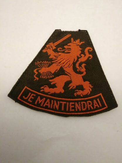 Je Maintiendrai Dutch Netherlands Army patch