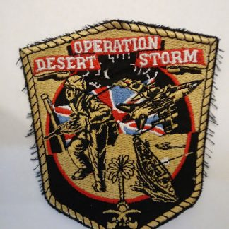 Operation Desert Storm Patch Badge