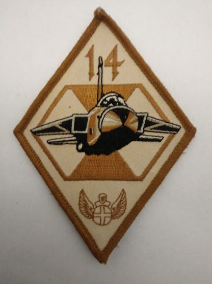RAF 14 Squadron Royal Airforce Tornado Strike Patch Badge