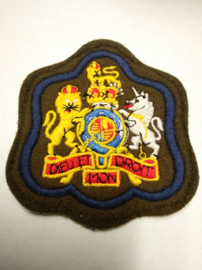 RSM Warrant officer C1 Patch badge