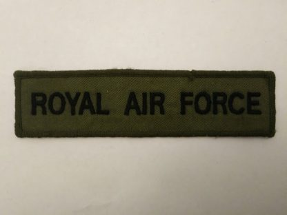 Royal Airforce Service Title Patch