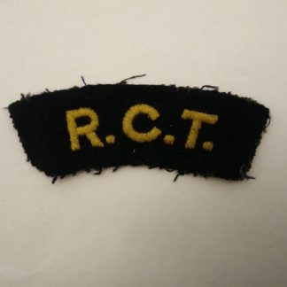 Royal Corps of Transport cloth patch