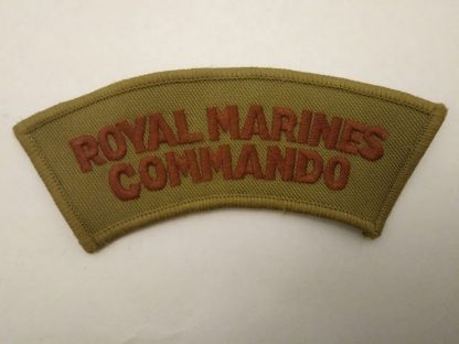 Royal Marine Commando Shoulder Title Patch