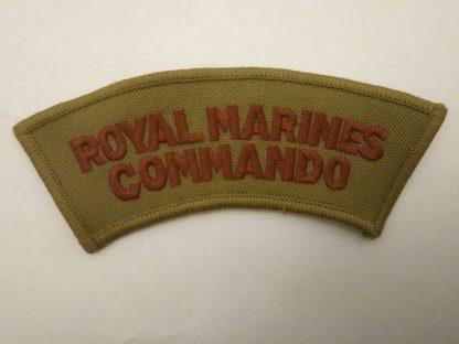 Royal Marine Commando Shoulder Title Patch