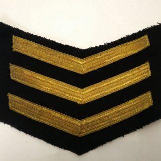 Royal Navy Sergeant Stripes patch