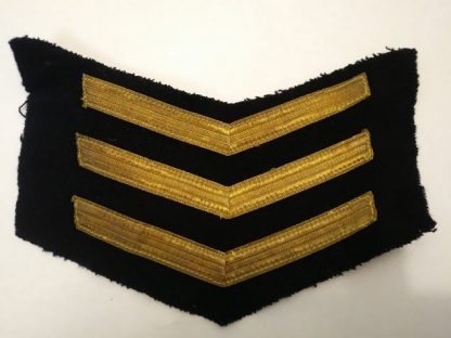 Royal Navy Sergeant Stripes patch