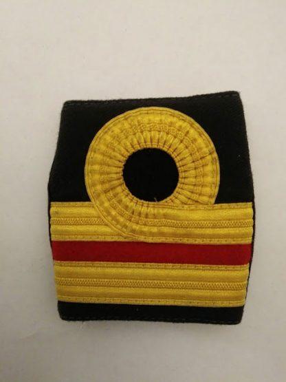 Royal navy Surgeon Rank slide Epaulette shoulder board