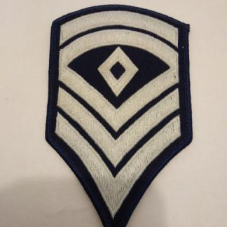 US army WW2 copy sergeant rank stripes fabric patch
